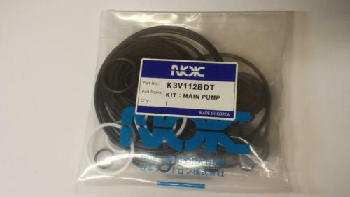 New Replacement Seal Kit For Kawasaki K3v112bdt For Hydraulic Excavator