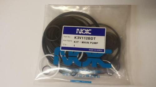New Seal Kit For Kawasaki K3v112bdt Hydrostatic Pump For Hydraulic Excavator
