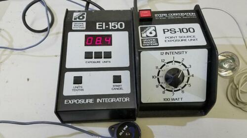 Byers Darkroom Exposure control EI-150 and PS-100 lamp supply