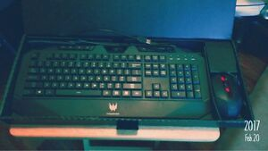 Never used Acer Predator Keyboard and Mouse