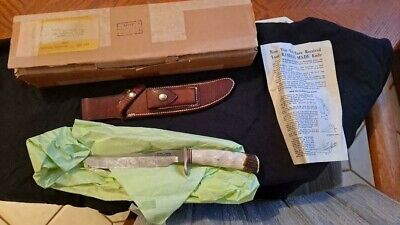 Vintage Randall 3-7 Hunter Knife