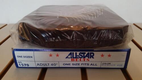 NEW All Star Baseball Softball Adjustable Elastic Belts -  Dozen (12 belts!)
