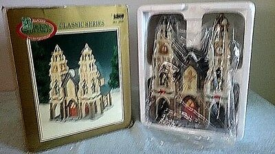 Dickens Collectables Hand Painted Porcelain Lighted Church Classic Series