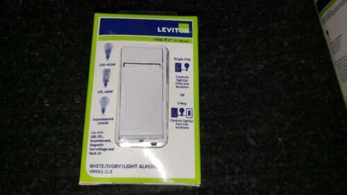 Leviton VRMX1-1LZ Vizia RF+ 1000-Watt Magnetic Low Voltage Scene Capable Dimmer