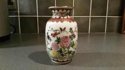 Chinese hand painted vase.