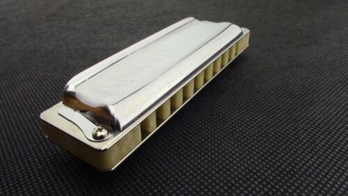 Suzuki Manji Diatonic Harmonica in C with Teflon Gaskets Added -Just Intonation!