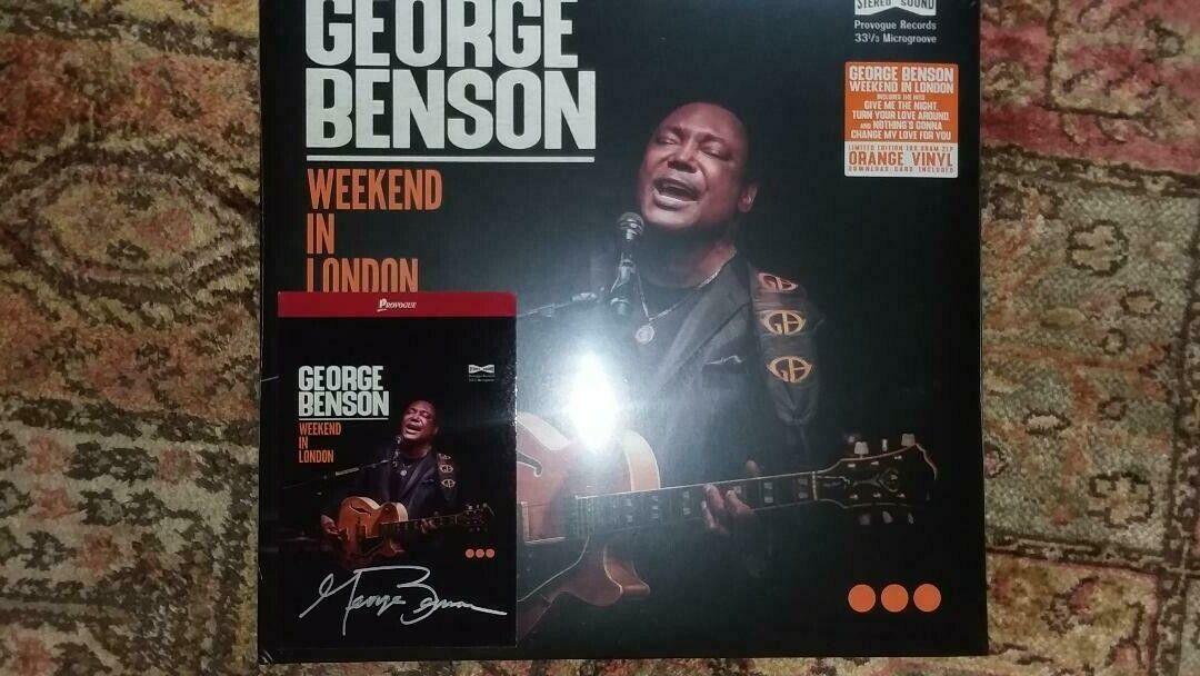 George Benson Weekend In London New LP W/ Signed Card. Newbury - $19.99