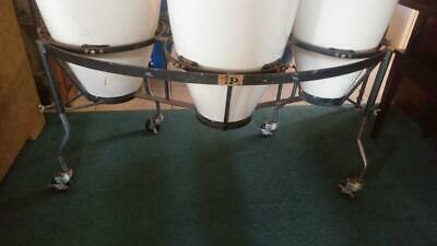 Vintage LP Triple Conga Stand with -
