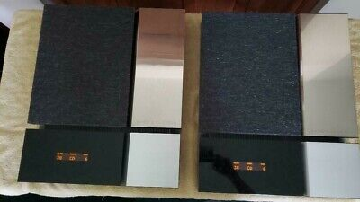 RARE & Gorgeous!   Bang & Olufsen Beolab 3000 Panel Speakers ( Wall Mount)