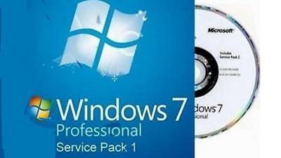 Microsoft Windows 7 Pro 64 Bit Full Version Sp1 Win 7 Professional 64Bit English
