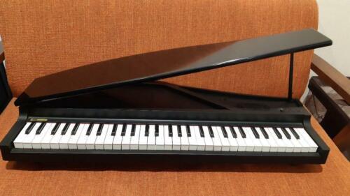 KORG Micro Piano Digital Compact Black Electronic Piano 61 key Used