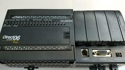 Automation Direct Do-06dd2 Plc Usedac Powered With 24vdc Internal Supply