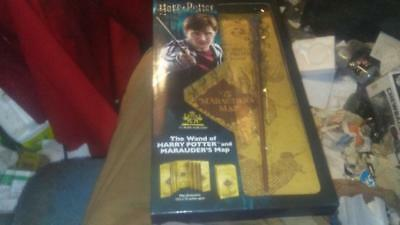 New! Harry Potter's Wand and The Marauder's Map