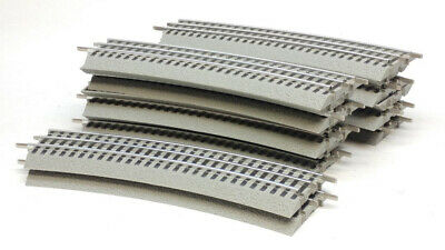 Lionel 6-12056 FasTrack O-60 Full Circle (16) Curved Track Sections, O Gauge
