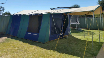 Great Outdoors (Hacienda) Family tent & canvas tent in Victoria | Camping u0026 Hiking | Gumtree Australia ...