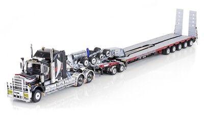 "Kenworth C509 Truck w/ Drake Trailer - ""NATIONAL H.H."" - 1/50 - #ZT09056, used for sale  Torrington"