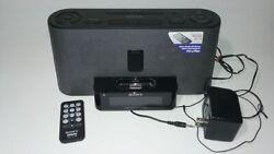 Sony ICF-CS10IP Audio Dock with Clock and Radio for iPhone/iPod - Black