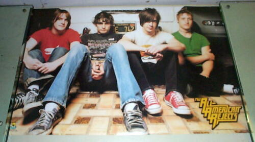 ALL AMERICAN REJECTS Vintage Poster Last One
