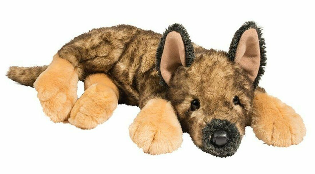 "Douglas MYA GERMAN SHEPHERD Plush Dog Toy 13"" Stuffed Animal"