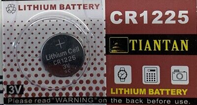 TIANTAN CR1225 Lithium 3V Authorized Seller. Free Ship From USA.
