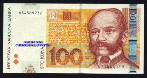 CROATIA, REPLACEMENT banknote 100 kuna, 2002, UNC