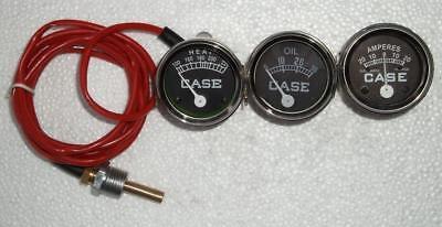 Case Tractor Temp Oil Amp Gauge Set- 400 430 440 450 470 480 La 500 600