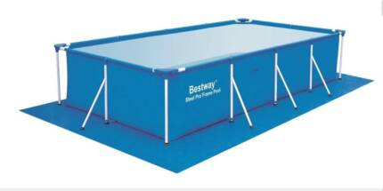 "Bestway Ground Cloth 445x254cm (175""x100"") for 4x2m Pool -58102 Thomastown Whittlesea Area Preview"