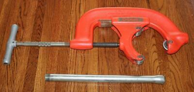 Ridgid Tool Company 6-s Heavy Duty 4 - 6 Inch Pipe Cutter - Super Clean