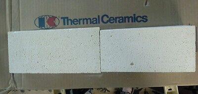 Insulating FireBrick Thermal Ceramics  K-23   9X4.5 - 4.04  ARCH   Indiv BRICKS