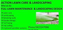 ACTION LAWN CARE LANDSCAPING AND HOUSE MAINTENANCE Mango Hill Pine Rivers Area Preview