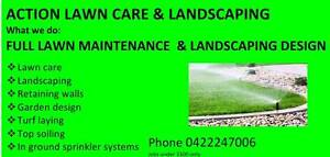 ACTION LAWN CARE AND LANDSCAPING North Lakes Pine Rivers Area Preview
