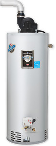 Hot Water Tank - 50 gal Natural Gas 40,000 BTU (1yr of use only)