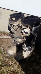 Two Pairs of Alpinestars boots
