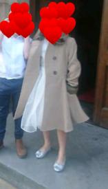 Girls Monsoon wool coat age 9-10