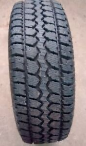 245/70/16 Winter Tires - Set of 2 with Rims -  6 bolt Pattern