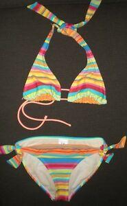 Brand Name Bikini Bathing Suit, Size S