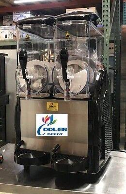 New 2 Margarita Frozen Cocktail Maker Slushie Machine Slush Puppie Smoothie Nsf