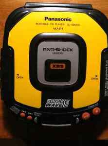 Lecteur CD portable Shockwave Panasonic