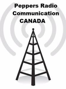 Two Way Radio web site ONLINE - Peppers Radio Communication - Walkie Talkies Mobile Radios & MORE!!