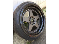 Rota Kyusha 17x9 wheels