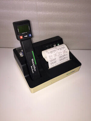 Welch Allyn 23640 Microtymp 2 Tympanometer W 71170 Printer Charger New Battery