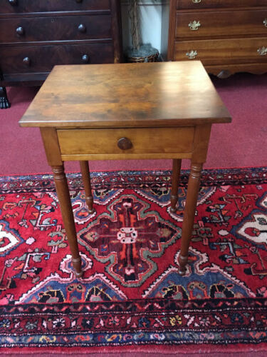 Cherry One Drawer Stand - Refinished - Delivery Available