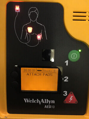 Welch Allyn Aed 10 New Battery Pads