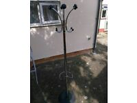 Coat stand chrome metal heavy duty, hat stand, unbrella stand, 180cm tall