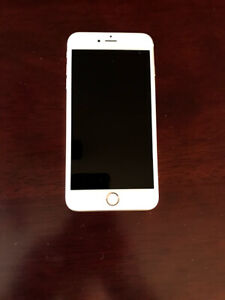 unlocked iPhone 6S plus, gold color, mint condition, hardly used
