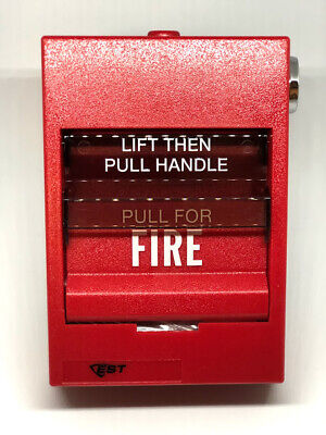 New Edwards Siga-278 - Fire Alarm Dual Action Pull Station