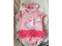 New baby girl clothes - 3 - 6 months