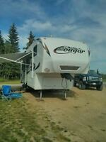 cougar 34 ft 5 th wheel