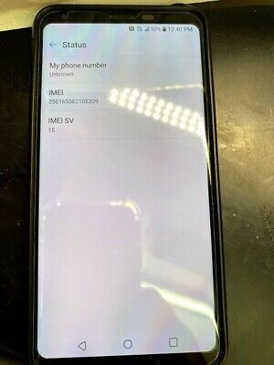 "LG V30 64GB 6.0"" T-Mobile 16MP Android Smartphone Silver"
