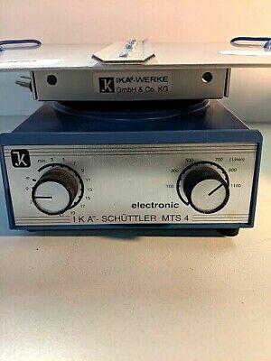 Lk Ika Schuttler Microplate Orbital Platform Shaker Mts4
